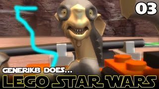 "LEGO STAR WARS The Complete Saga Ep 03 - ""Lego Pod Racing!!!"""