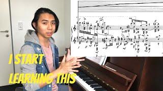 Beginning Stockhausen's Klavierstück VI — Practice Vlog Ep. 1