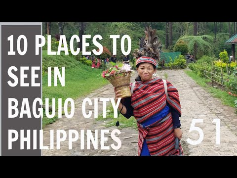 PLACES TO SEE IN BAGUIO CITY  , PHILIPPINES TRAVEL VLOG #51