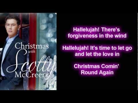 Scotty McCreery - Christmas Comin' Round Again (Lyrics)