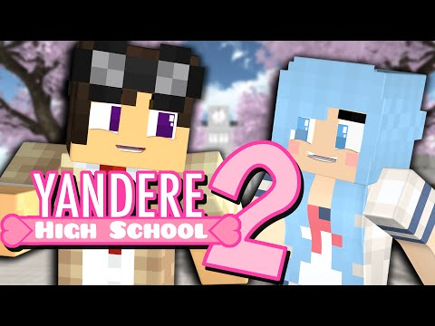 Yandere High School SEASON 2 - A DATE WITH ASH?! (Minecraft Roleplay)