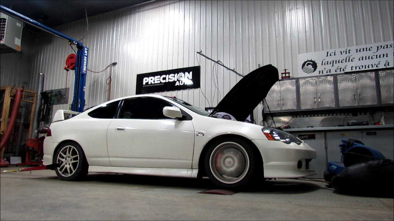 Precision Auto Canada Acura RSX k24A2 Jackson Racing Supercharged Dyno  Tuning 2017