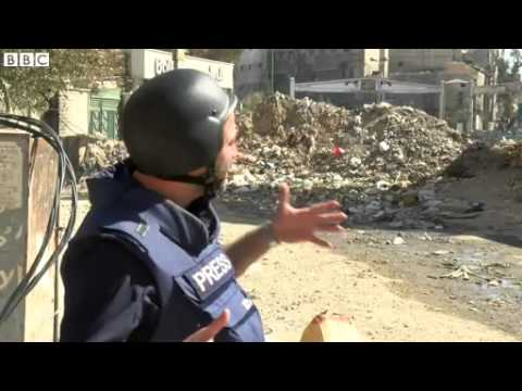 BBC News 22 March 2014 Food parcels halted after fighting in Yarmouk refuge camp