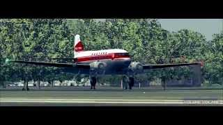 FS2004 Douglas DC-3 Glasgow to Heathrow