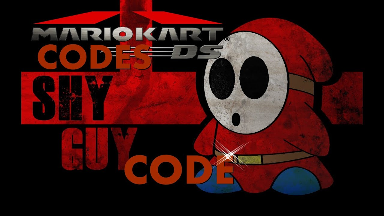 Mario Kart DS Action Repaly Hack: Play as Shy Guy