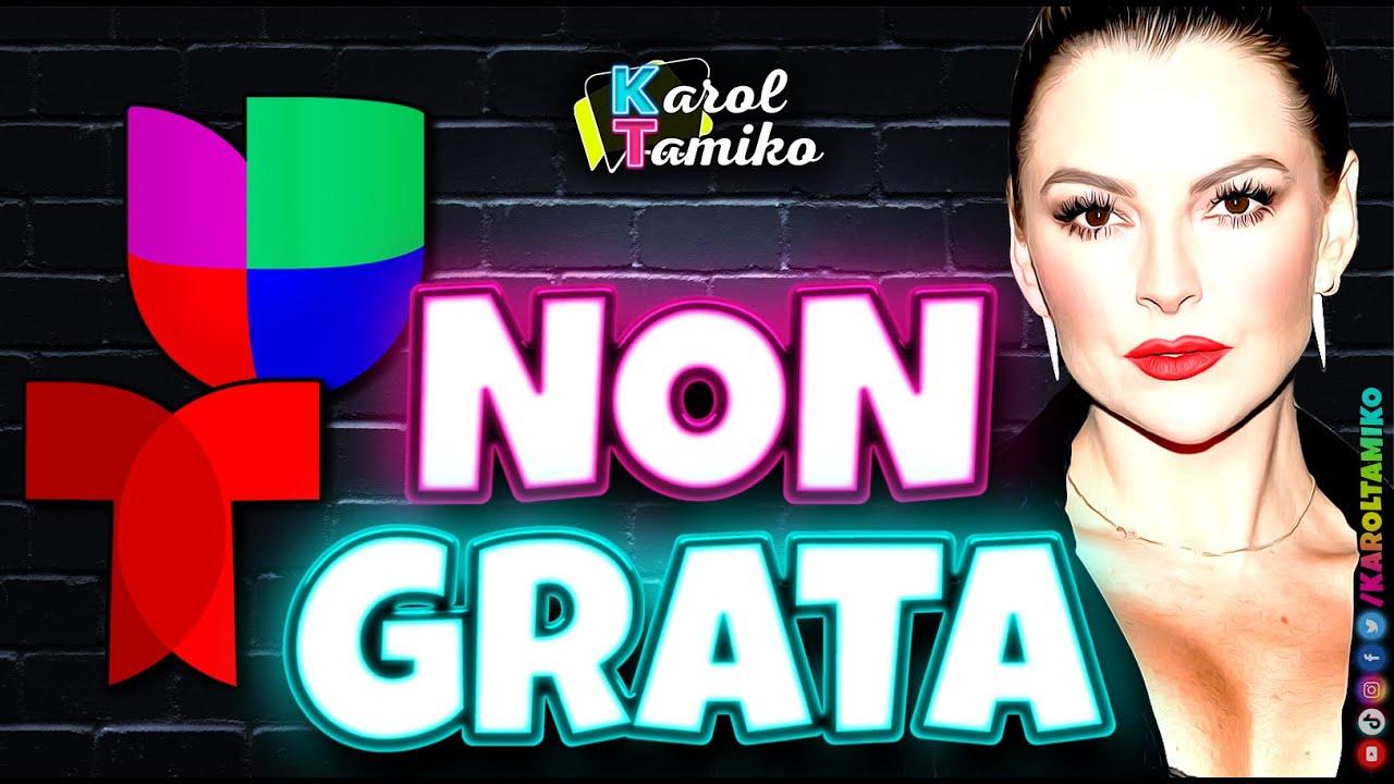 Marjorie de Sousa actriz non grata en Televisa Univision y Telemundo
