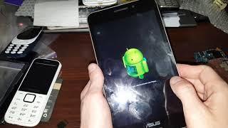 Asus MeMo Pad 7 LTE ME375CL hard reset сброс настроек графический ключ пароль тормозит висит