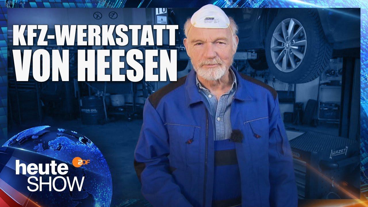 ulrich von heesen testet die diesel abgase heute show vom youtube. Black Bedroom Furniture Sets. Home Design Ideas