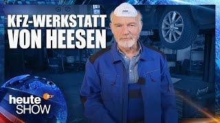 Ulrich von Heesen testet die Diesel-Abgase