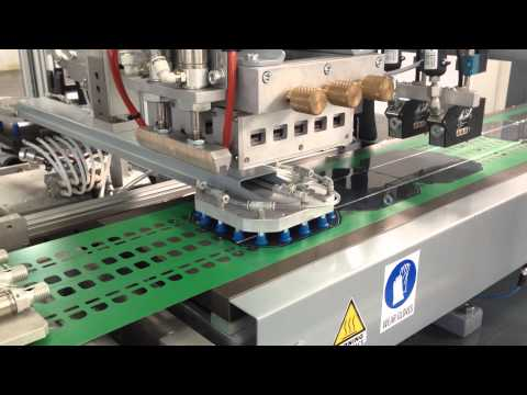 Midsummer CIGS Thin film solar module line manufacturing - Video 1