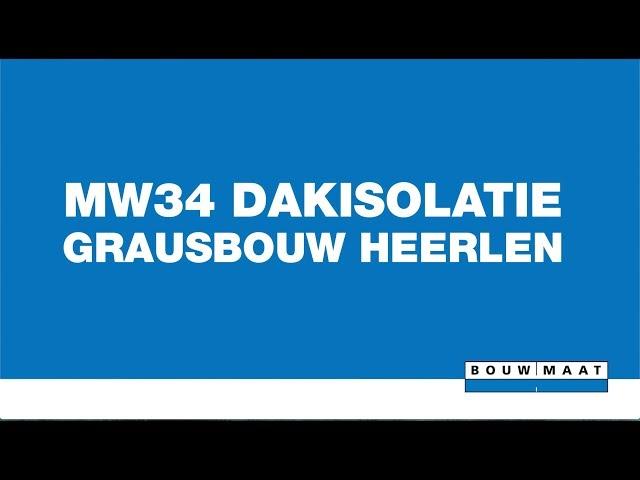 Gebruik Knauf Insulation MW34 door Grausbouw