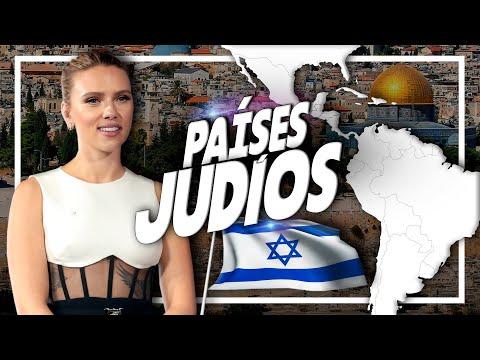 Los 10 Países Con MÁS JUDÍOS De América Latina