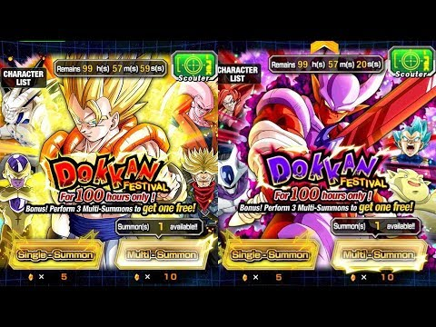HOLY CRAP! THEY CHANGED GOGETA AND JANEMBA'S BANNERS! Dragon Ball Z Dokkan Battle