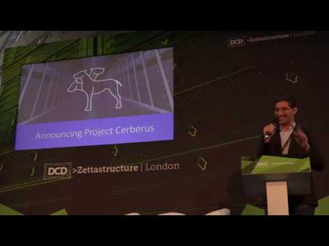 Innovating at scale in the cloud at DCD Zettastructure 2017