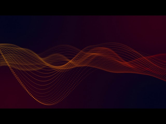 Dots Wave Futuristic Loop - Free Motion Graphics