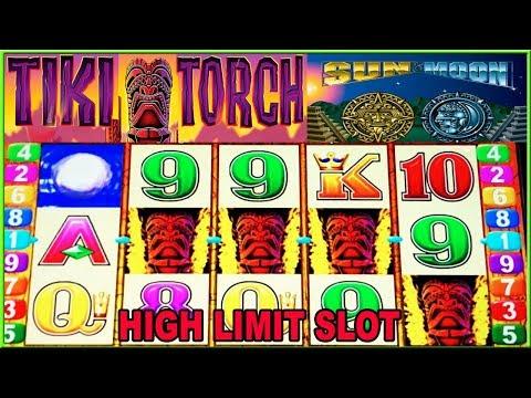 ★  TIKI TORCH  - SUN & MOON HIGH LIMIT SLOT MACHINE  ★ LIVE PLAY & BONUS ★