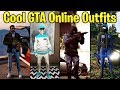 GTA Online FASHION FRIDAY! 10+ Awesome Outfits (Street Biker, SAS Military, Cyan Gangster & More)