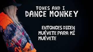 """Dance Monkey"" - Tones And I (Spanish lyric video)"