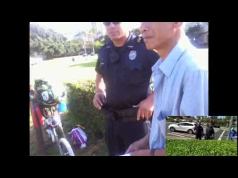 4/10/13 Raid on deOccupy Honolulu violates Fed Court Order