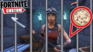 Fortnite INSANE PRISON Escape 2.. Can you ESCAPE Brok's PUZZLE Deathrun?! (Fortnite Creative Mode)
