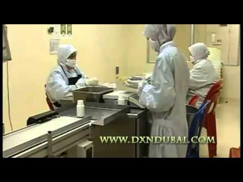 DXN Spirulina Tablet Preparation