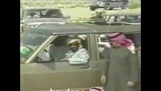 فيديو لموقف طريف يجمع الشيخ زايد ونجله محمد وملك البحرين