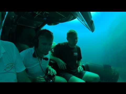 1st Submarine Dive at Diamond Rock, Saba
