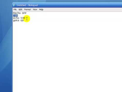 write a batch file to open a website