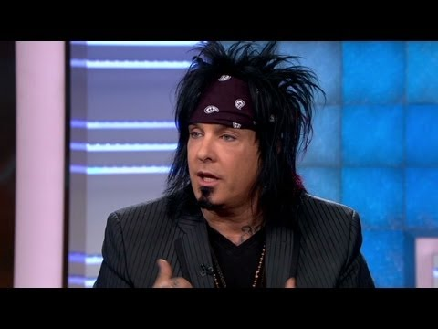 Rock icon Nikki Sixx celebrating life