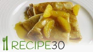 Orange Crepes Suzette Classic Recipe