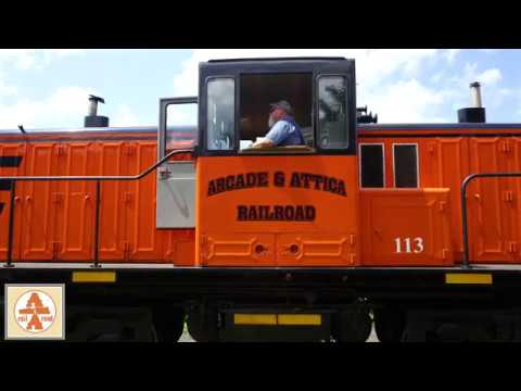Ride The Arcade & Attica Railroad!