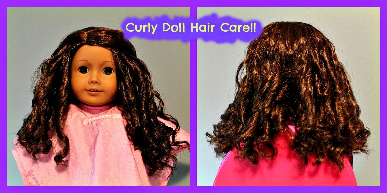 How To Curl Your American Girl Dolls Hair 44 Cecile
