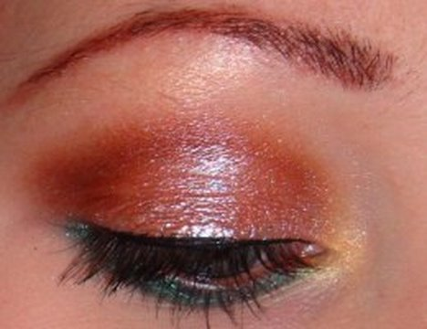 Fall Inspired Eyes with Earth Goddess Minerals