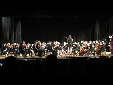 Jocelyn Huang and Cavalier Symphony Orchestra perform Star Wars: Throne Room