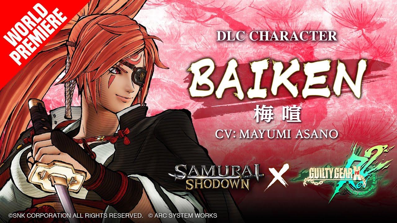 【US】BAIKEN SAMURAI SHODOWN × GUILTY GEAR –DLC Character