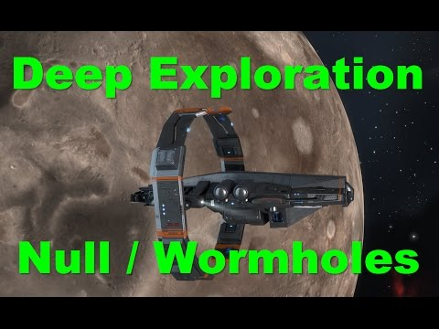 Deep Exploration - Wormholes / Null - EVE Online Live