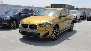 2018 BMW X2 xDrive28i M Sport: In Depth First Person Look