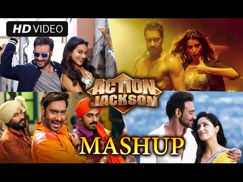Action Jackson Mashup  Kiran Kamath  Ajay Devgn & Sonakshi Sinha
