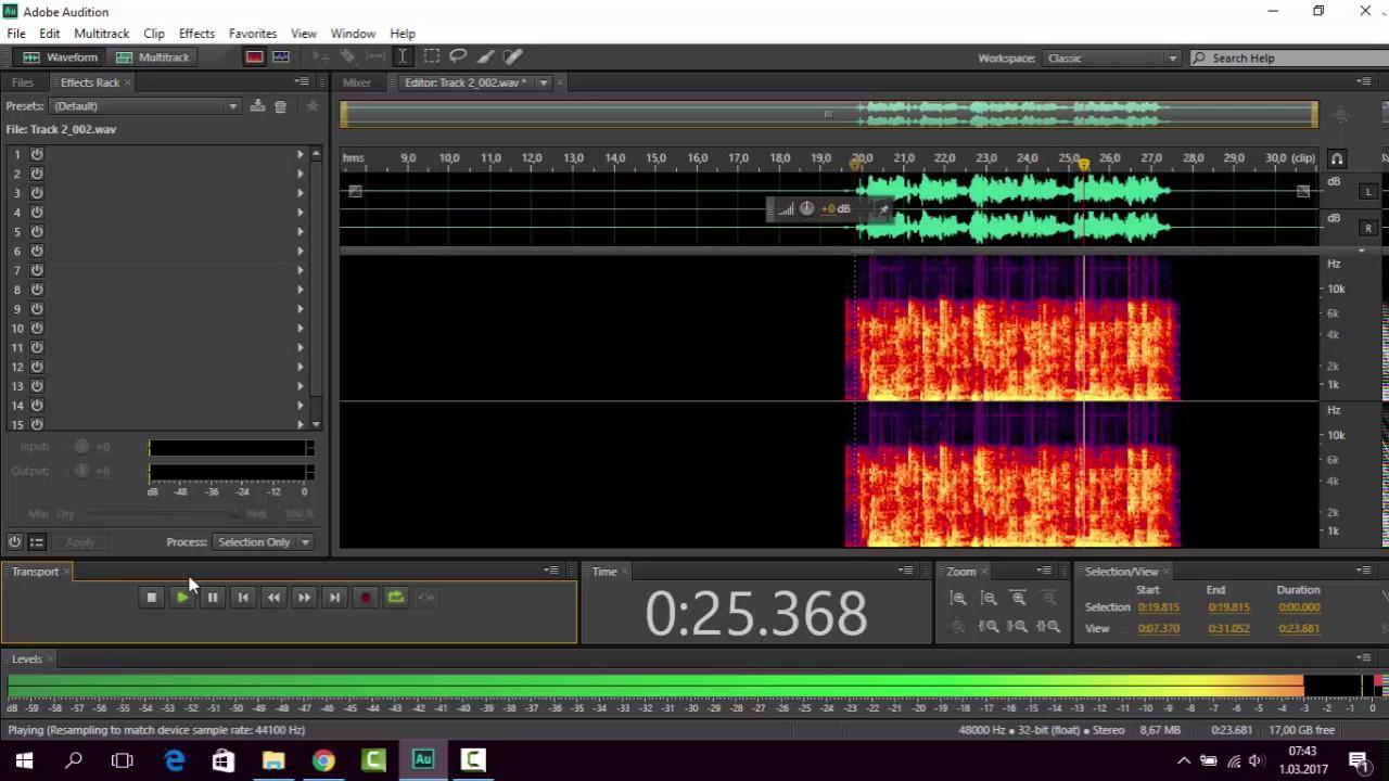 ADOBE AUDITION CS6 İle Rap Müzik Nasıl Yapılır, Ses Kaydı Alma Sesi Düzenleme eğitimi