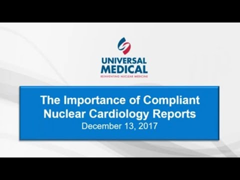 The Importance Of Compliant Nuclear Cardiology Reports