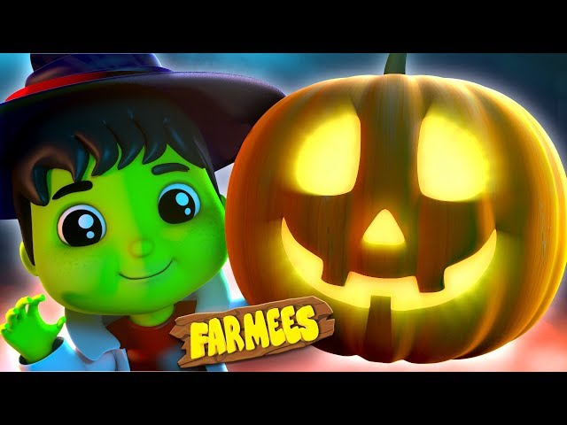 Hello Its Halloween | Kindergarten Nursery Rhymes For Kids | Halloween Videos For babies by Farmees