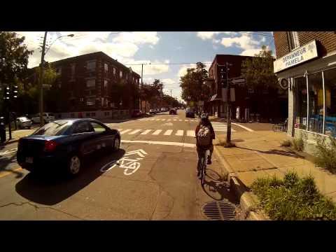 Bike Ride  Montreal Quebec  - September 18th 2014 - 1080p