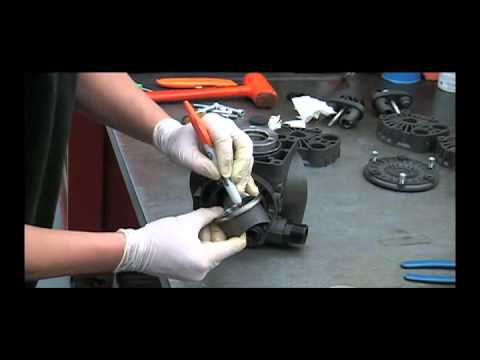 HYPRO Diaphragm Pump  Service Video D403 Full
