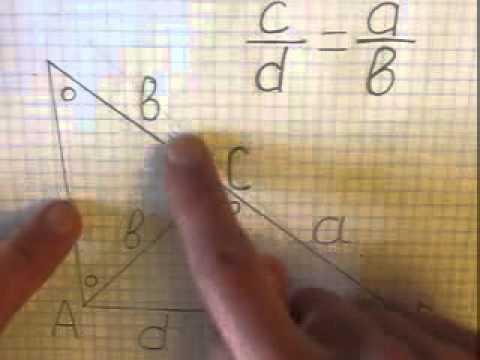 Теорема о свойстве биссектрисы внутреннего угла треугольника Доказательство