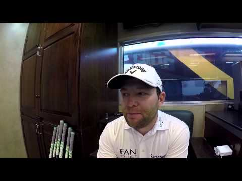 In Augusta with European Tour Star Branden Grace