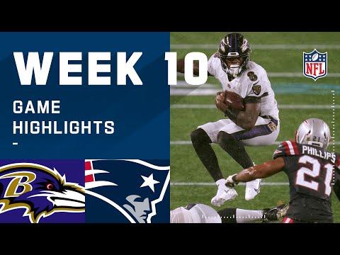 Ravens vs. Patriots Week 10 Highlights   NFL 2020