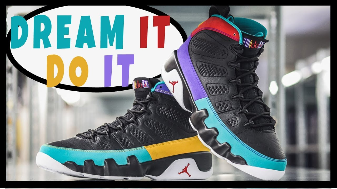 66be33028bb AIR JORDAN RETRO 9 DREAM IT DO IT REVIEW AND ON FEET | RETRO 9 FLIGHT  NOSTALGIA