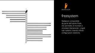 Freesystem di Deltacalor: calore creativo e personalizzato