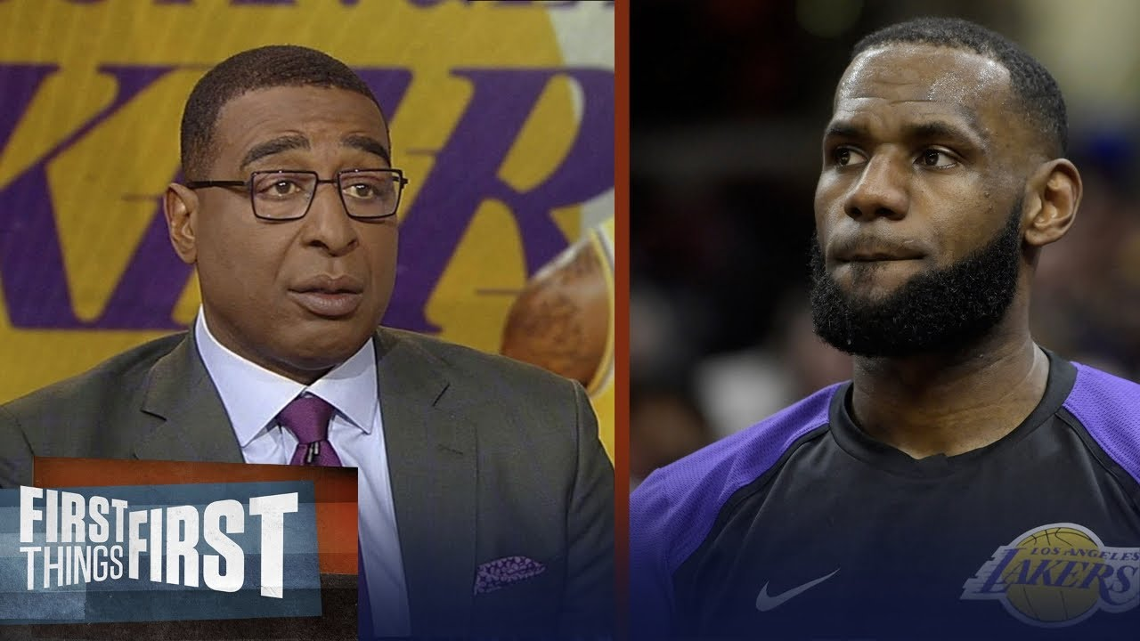 Cris Carter thinks Lakers should sit LeBron for the rest of the season | NBA | FIRST THINGS FIRST