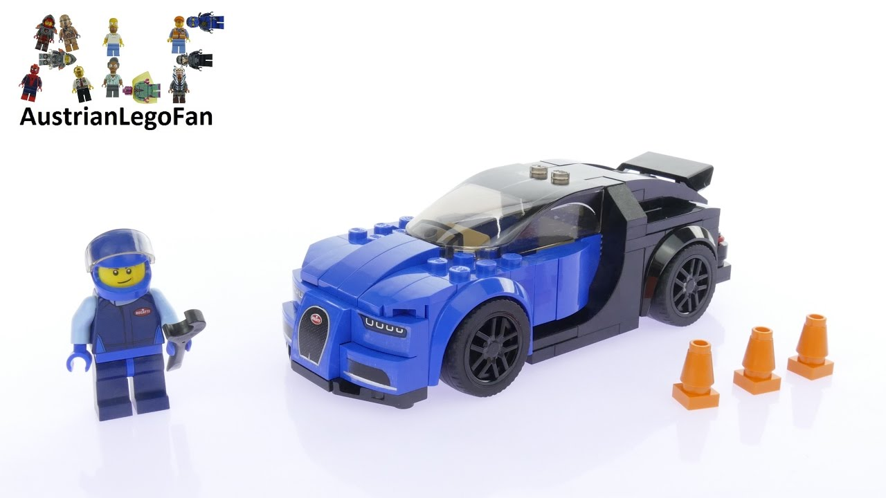 Lego Speed Champions 75878 Bugatti Chiron - Lego Speed Build Review